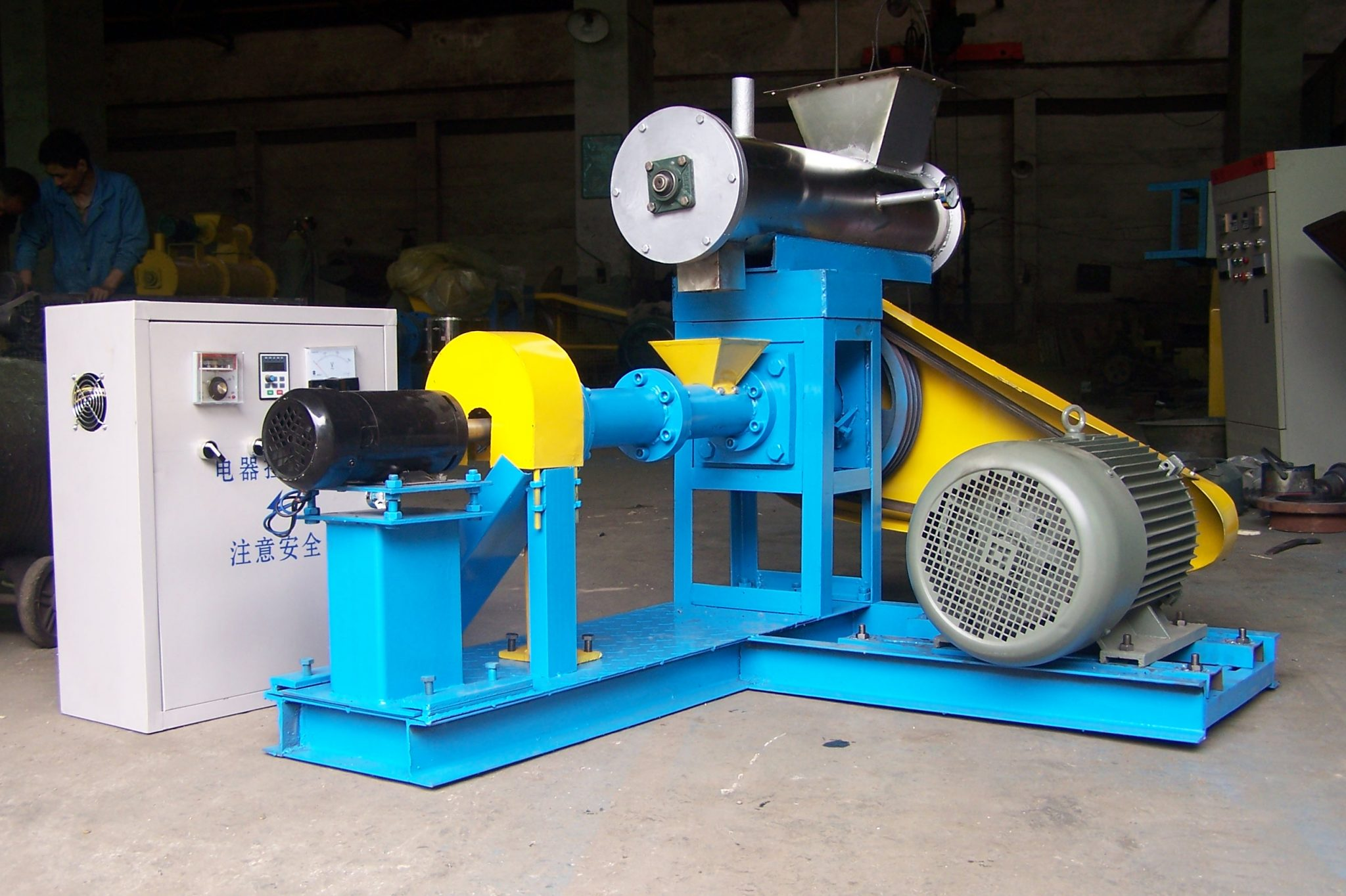 300-400KG/H feed extrusion machine
