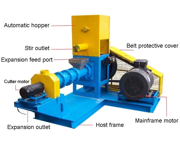 400~500KG/H fish pellet mill
