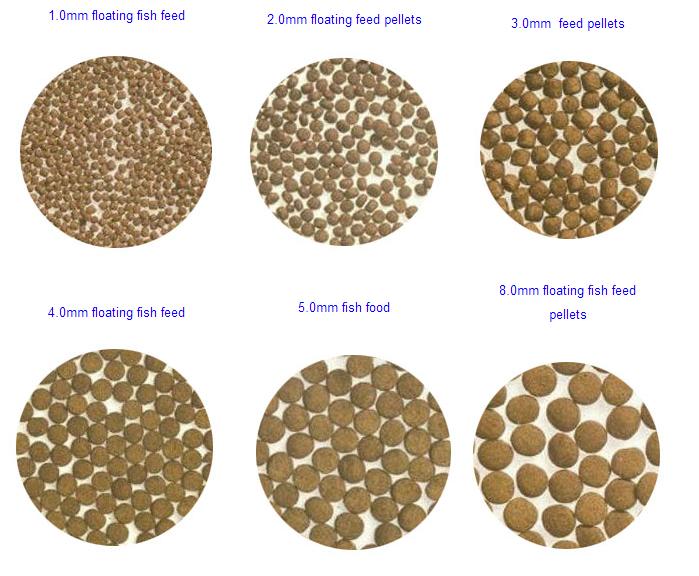 how to make floating fish food pellet