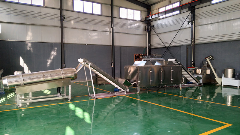 stainless steel pet food production line