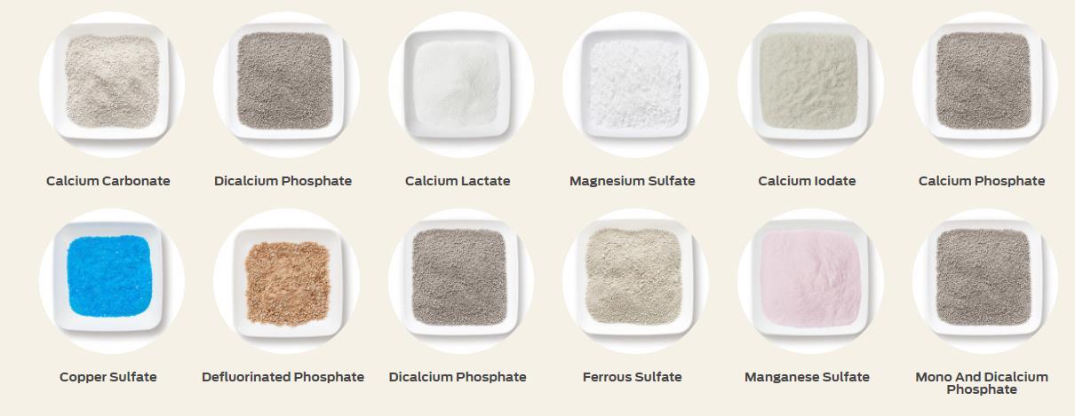 Dog food ingredients formulation