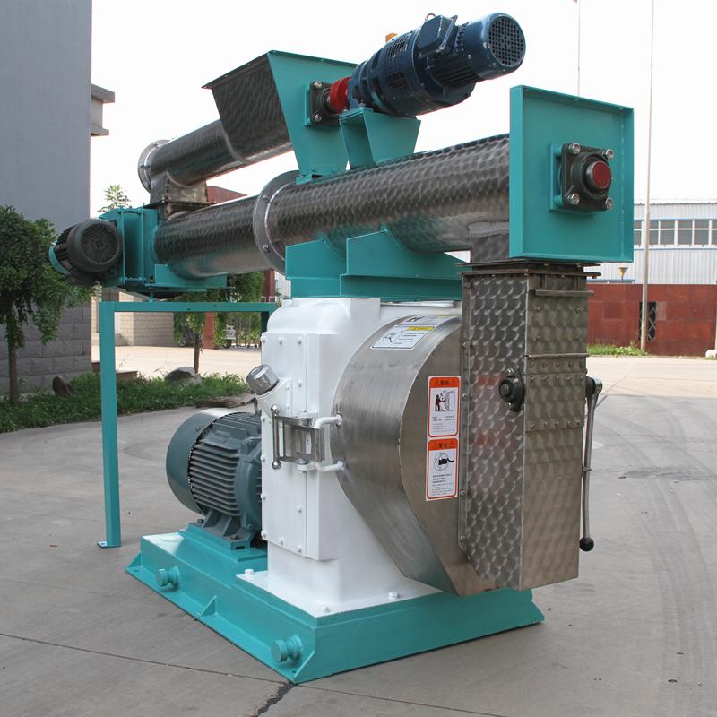 5-10 T/H ring die pellet mill